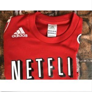 adidas Shirts - Employee Exclusive! Netflix Latin America Adidas S